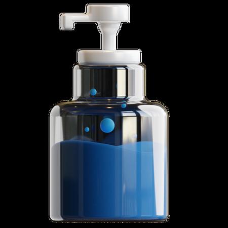 Hand Sanitizer 3D Illustration