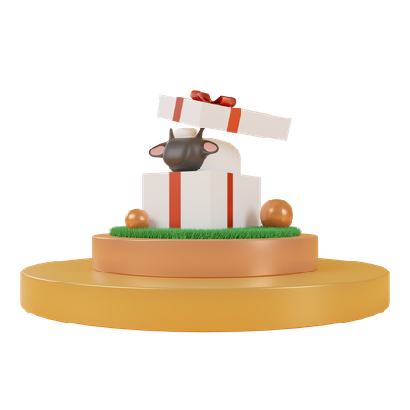 Happy Eid Al Adha 3D Illustration