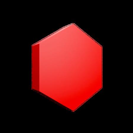Hexagon 3D Illustration