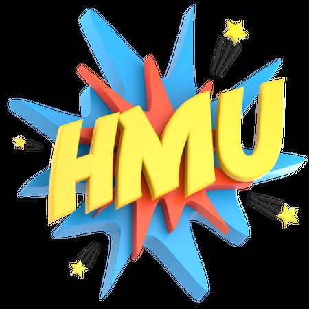 HMU 3D Illustration