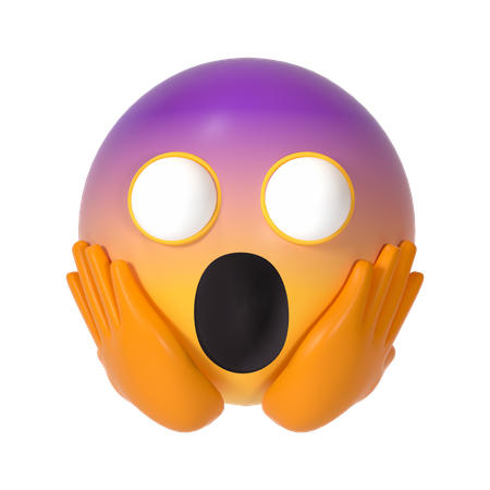 Horrified 3D Illustration