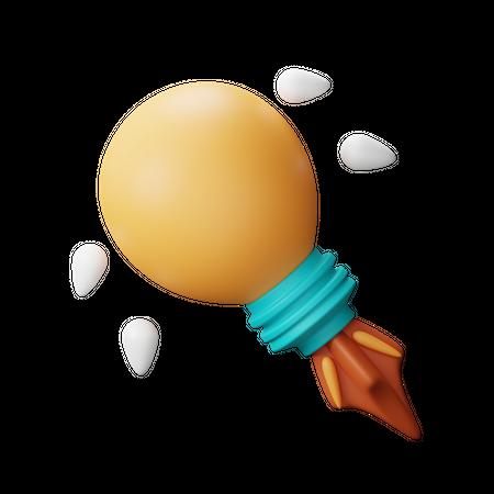 Idea 3D Illustration