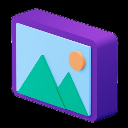 Image 3D Illustration