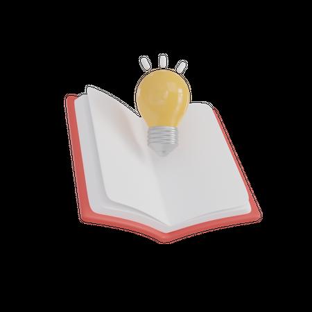 Innovative Book 3D Illustration