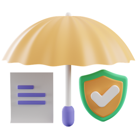 Insurance 3D Illustration