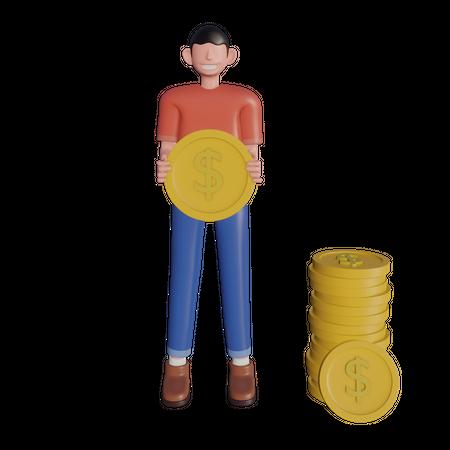 Investor 3D Illustration