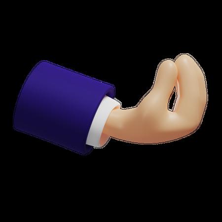 Italian Gesture 3D Illustration
