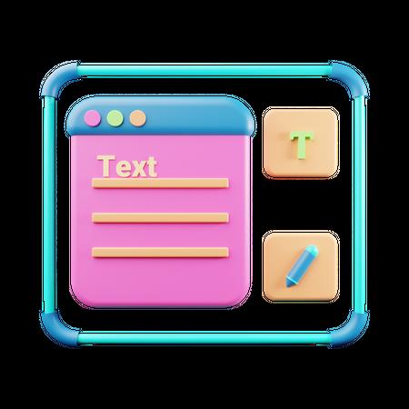 Keep Notes 3D Illustration