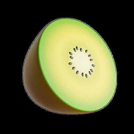Kiwi 3D Illustration