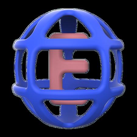 Language 3D Illustration