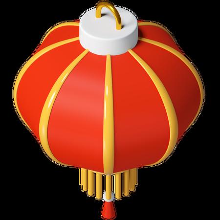 Lantern 3D Illustration