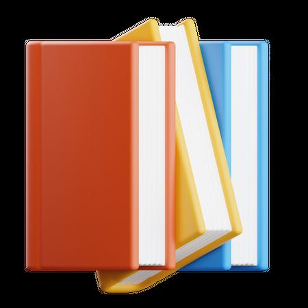 Library 3D Illustration