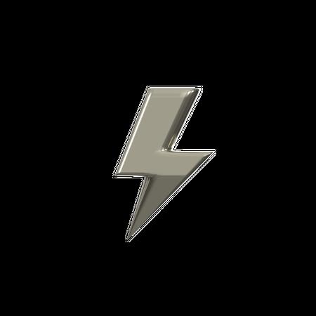 Lightning 3D Illustration