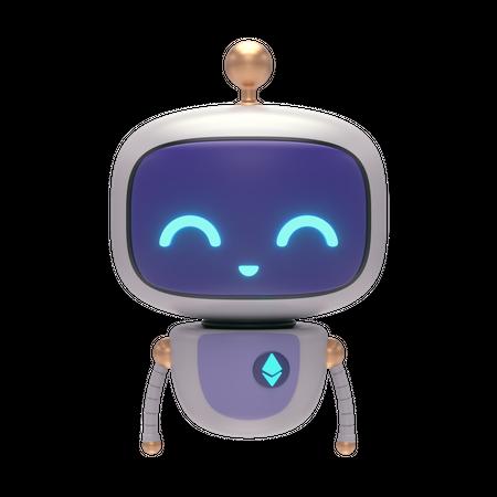 Little Bot 3D Illustration