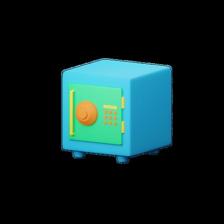 Locker 3D Illustration