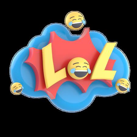 LOL 3D Illustration
