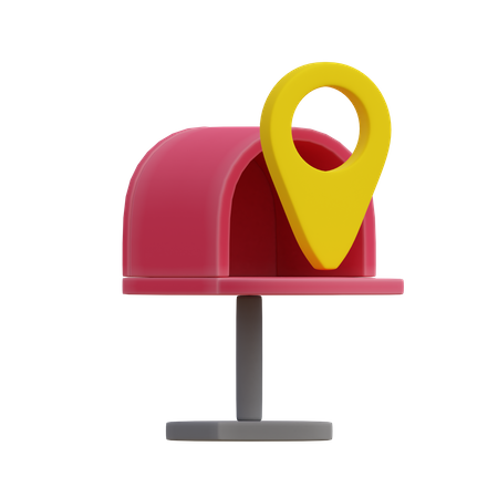 Mail Box 3D Illustration