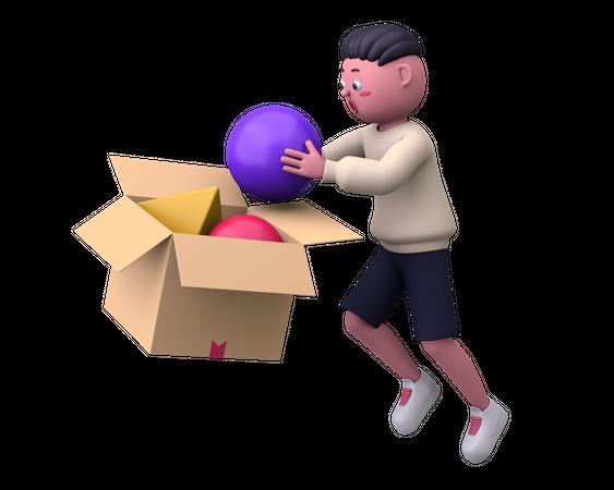 Making things 3D Illustration