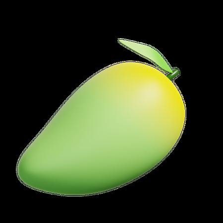 Mango 3D Illustration