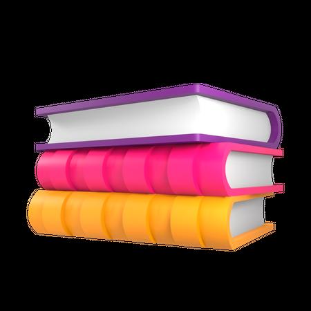 Medical Book 3D Illustration