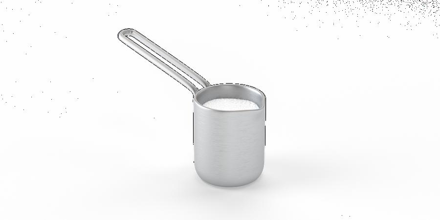 Milk cup 3D Illustration