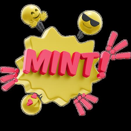 MINT 3D Illustration