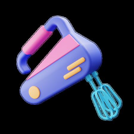 Mixer 3D Illustration