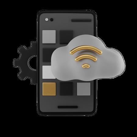 Mobile Configuration 3D Illustration