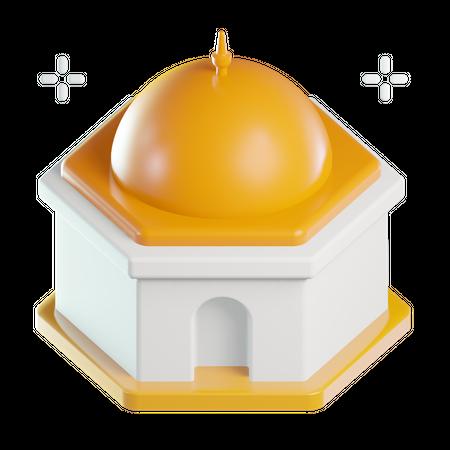 Mosque 3D Illustration