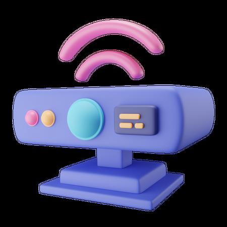 Motion Sensor 3D Illustration