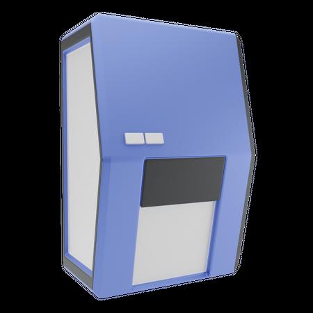 Motion Sensor Machine 3D Illustration