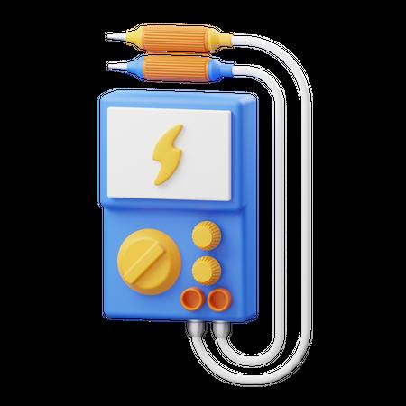 Multimeter 3D Illustration