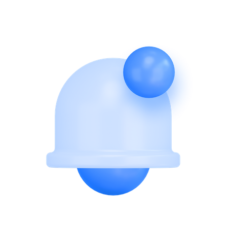 New Notification 3D Illustration