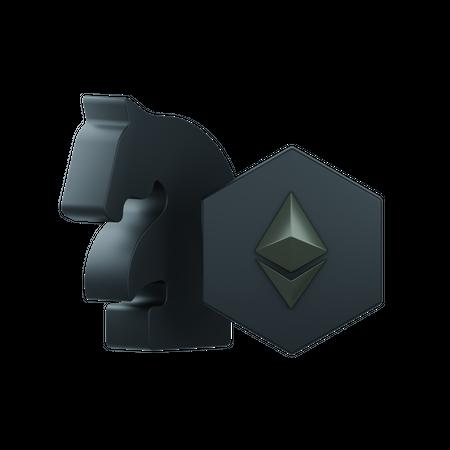 Nft Strategy 3D Illustration