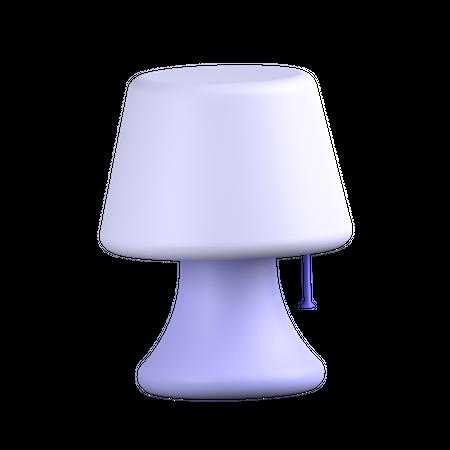 Night Lamp 3D Illustration