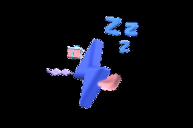 No Surprise gift 3D Illustration