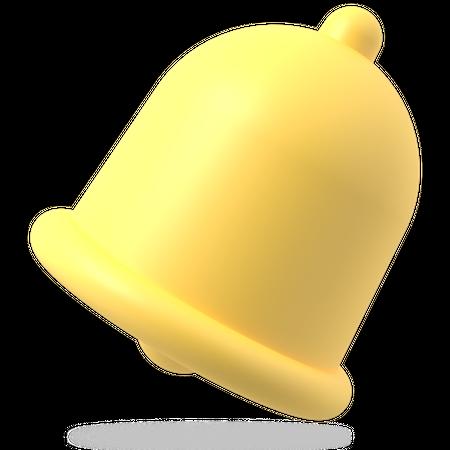 Notification Bell 3D Illustration