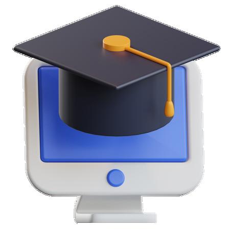 Online Learning 3D Illustration