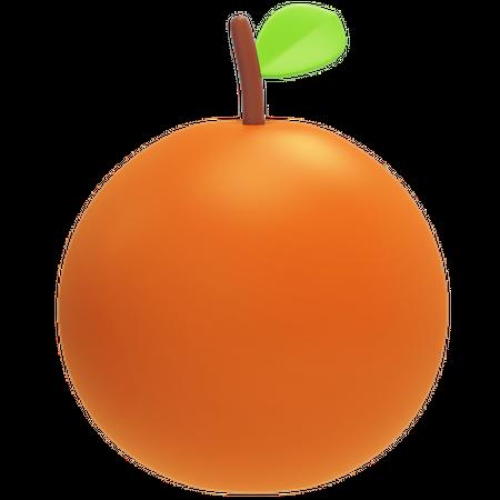 Orange 3D Illustration