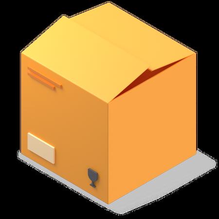 Package 3D Illustration