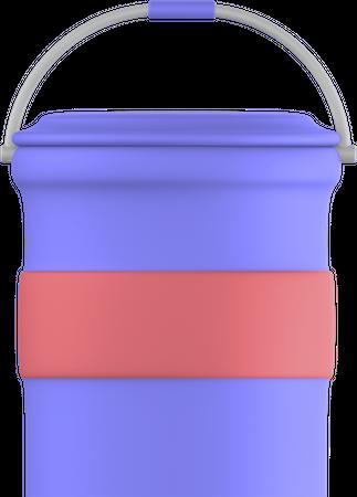 Paint cans 3D Illustration