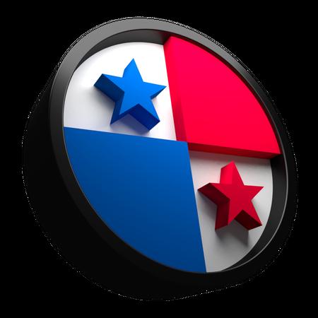 Panama Flag 3D Illustration