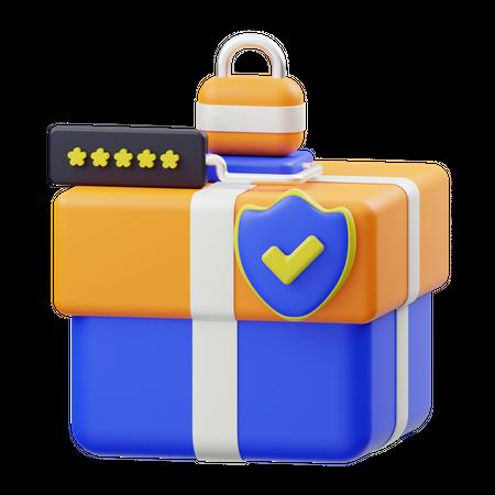 Parcel Protection 3D Illustration