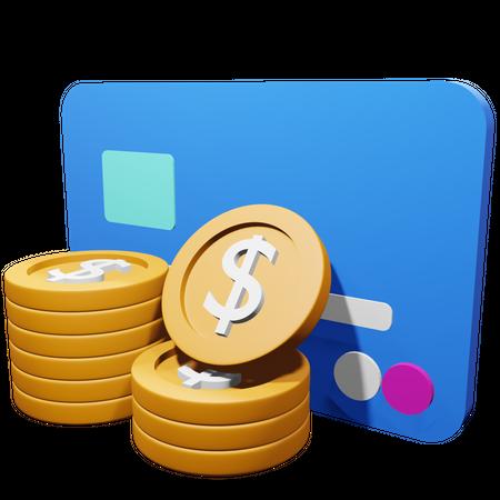 Payment Methods 3D Illustration