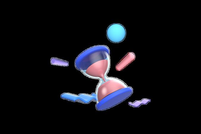 Processing 3D Illustration