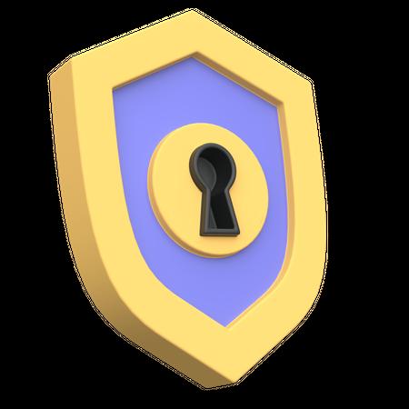 Protection 3D Illustration