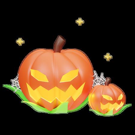 Pumpkin 3D Illustration