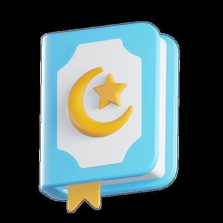 Quran 3D Illustration