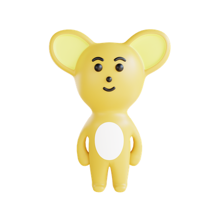 Rat 3D Illustration