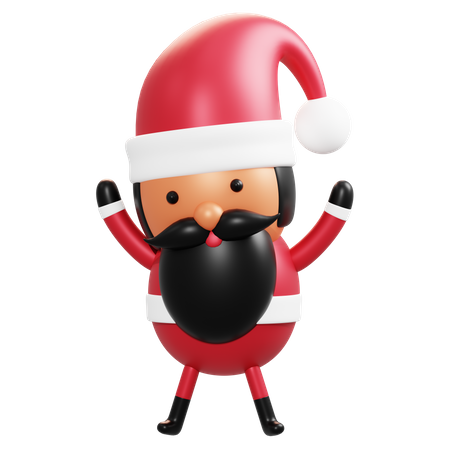 Santa Claus 3D Illustration